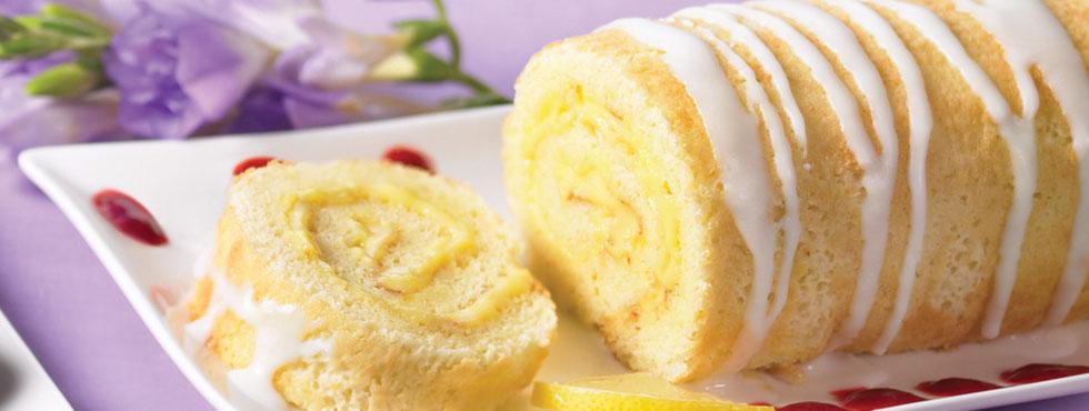 Lemon Roulade | Recipes