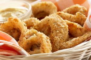 'Unfried' Onion Rings