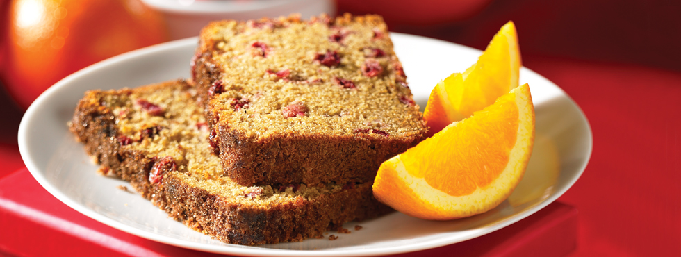 Orange Cranberry Tea Bread | Recipes