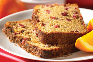 Orange Cranberry Tea Bread