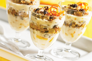 Granola and Yogurt Parfait