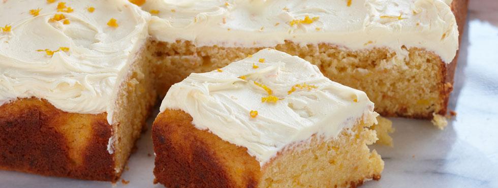 Food Processor Orange Cake | Recipes