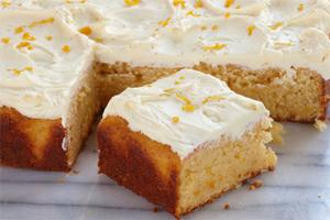 Food Processor Orange Cake