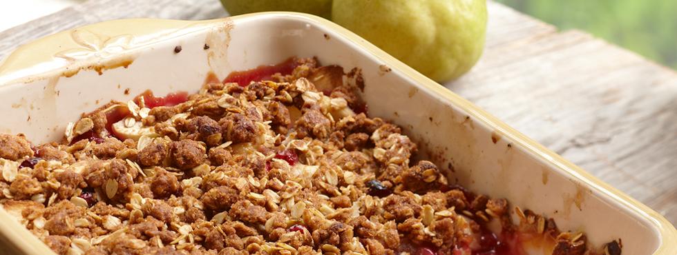 Fabulous Fall Fruit Crisp | Recipes