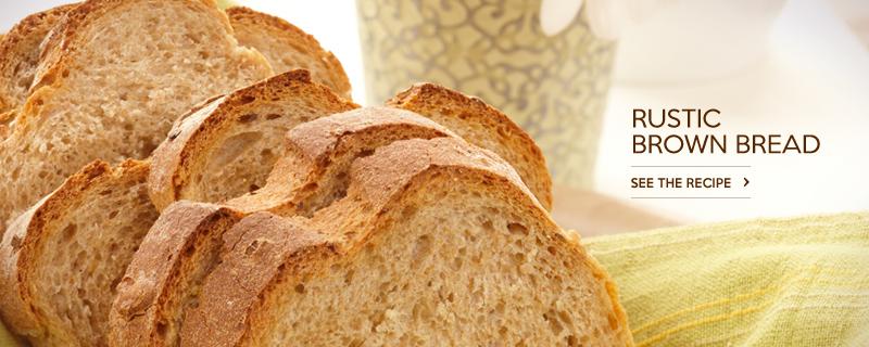 Rustic Brown Bread