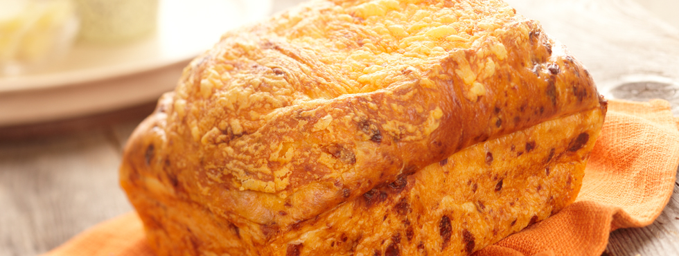 Cheese 'n Onion Bread – Small Loaf | Recipes