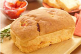 Roasted Pepper and Rosemary Bread