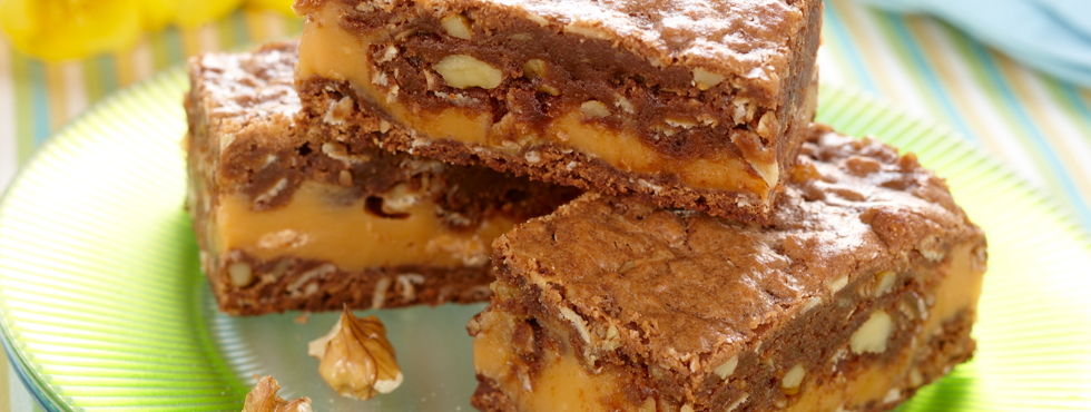 Chocolate Butterscotch Ripple Squares | Recipes