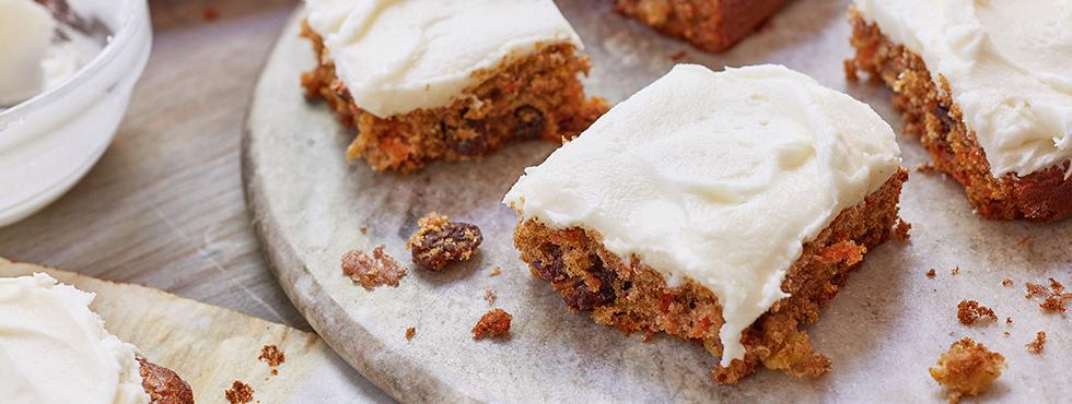 Honey Carrot Cake Squares | Recipes