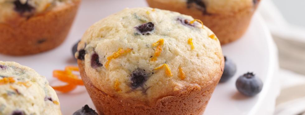 ... Muffins, Biscuits & Quick Breads / Fruit Muffins / Blueberry Orange