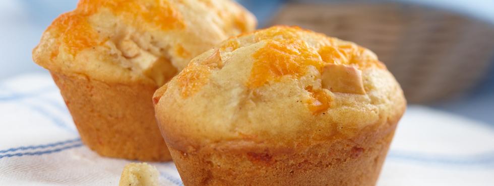 Apple 'n Cheddar Muffins | Recipes