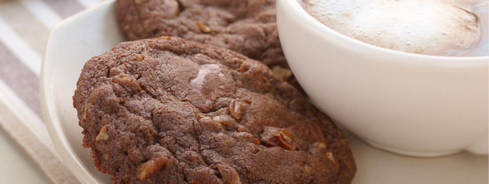 Chocolate Chocolate Caramel Cookies | Recipes