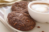 Chocolate Chocolate Caramel Cookies