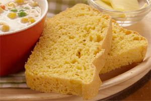 Honey Cornmeal Bread – Small Loaf