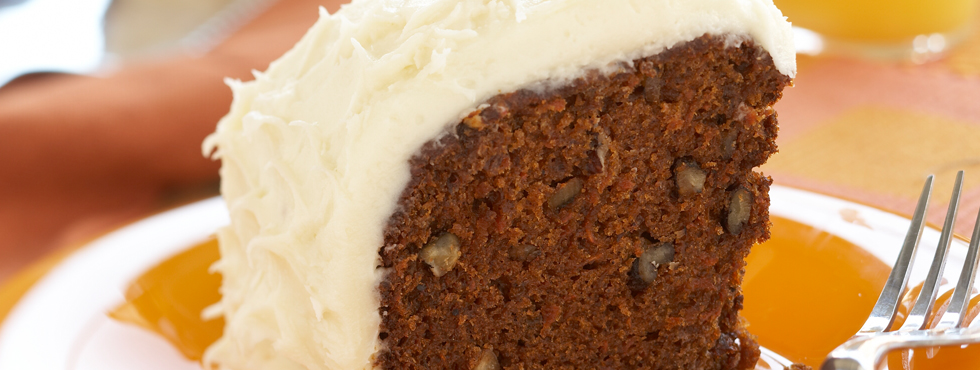 ... Recipes / Occasions / Birthdays / Carrot Cake With Cream Cheese Icing