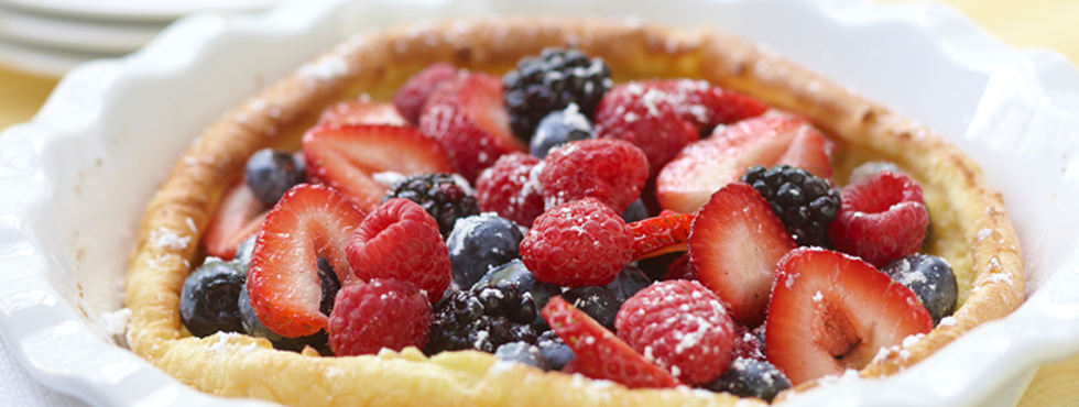 Berry Oven Pancake | Recipes