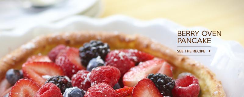 Berry Oven Pancake