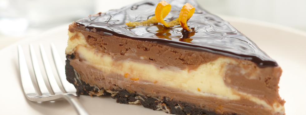 ... Recipes / Cakes & Cupcakes / Cheesecakes / Chocolate Orange Cheesecake