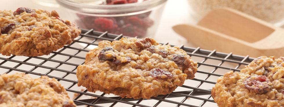Cranberry Oat Cookies | Recipes