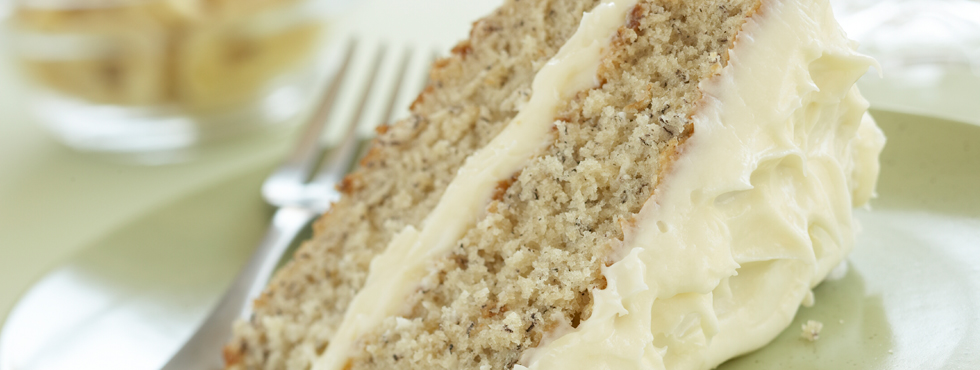 Banana Cake With Cream Cheese Icing | Recipes