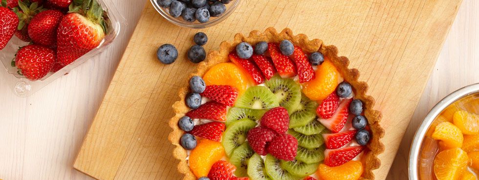Fresh Fruit Flan | Recipes