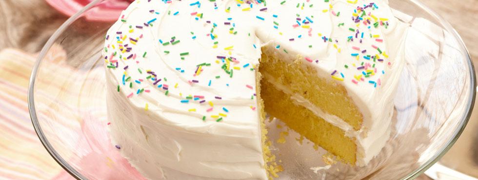 Luscious Lemon Cake | Recipes