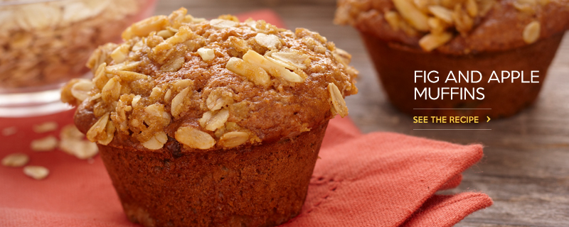Fig and Apple Muffins