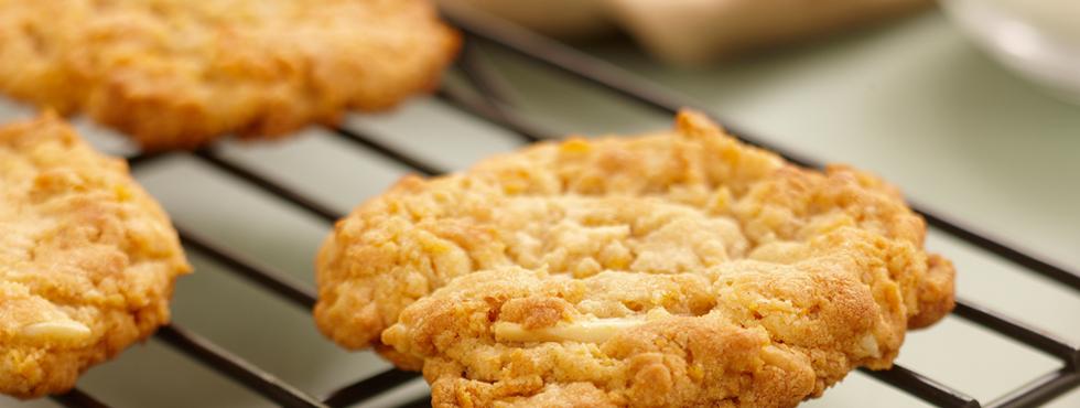Butterscotch Almond Cookies   Recipes