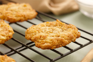 Butterscotch Almond Cookies