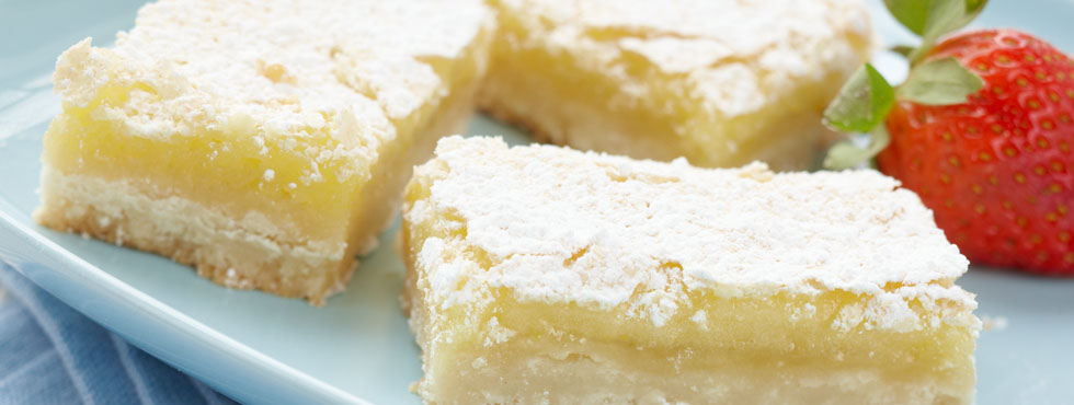 Lemon Squares | Recipes