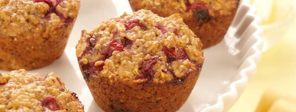 Cranberry Breakfast Muffins | Recipes