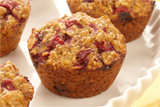 Cranberry Breakfast Muffins