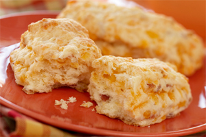 Cheese and Bacon Biscuit Sticks