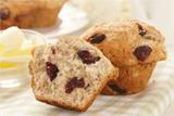 Banana Cranberry Muffins