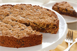 Giant Chocolate Oat Cookie Wedges