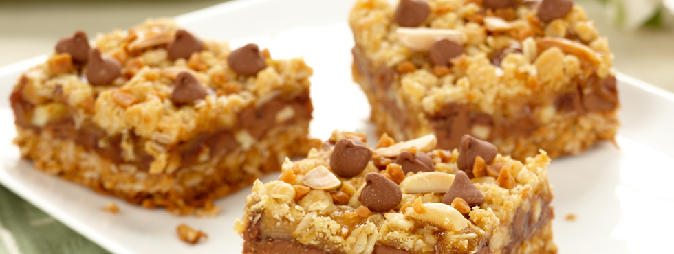 ... Bars, Squares & Brownies / Chocolate / Chocolate Toffee Almond Squares