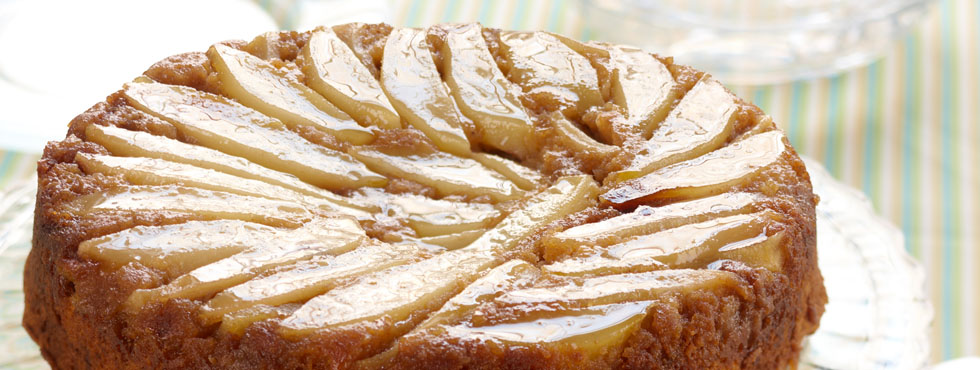 Pumpkin Pear Upside Down Cake | Recipes