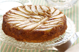 Pumpkin Pear Upside Down Cake