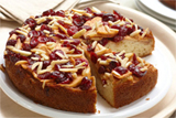 Apple Cranberry Coffeecake