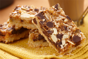 Magic Chocolate Toffee Bars