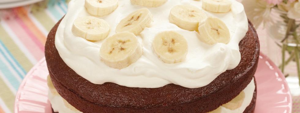 Banana Cream Gingerbread | Recipes
