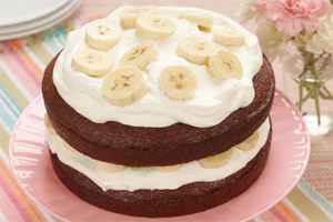 Banana Cream Gingerbread
