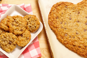 Oatmeal Chocolate Chip Cookiegram