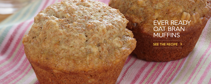 Ever-Ready Oat-Bran Muffins