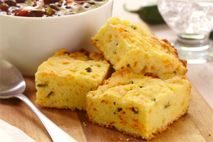 Cheesy Corn Bread