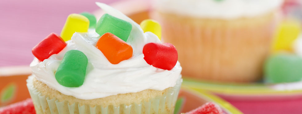 Gumdrop Cupcakes | Recipes
