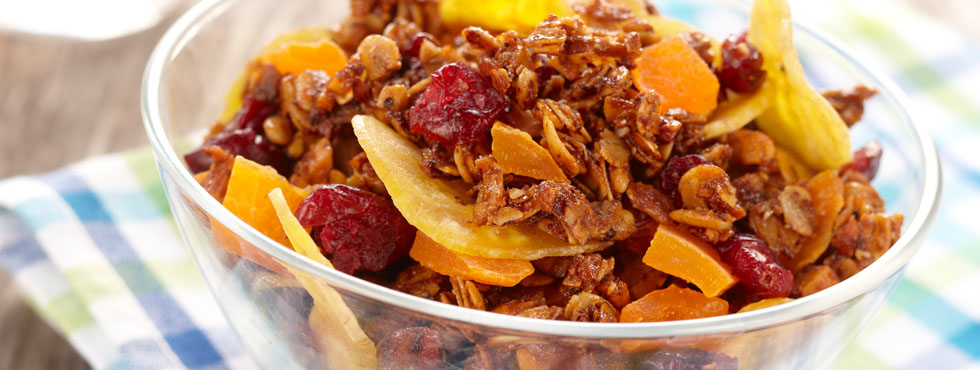Honey Granola Trail Mix | Recipes