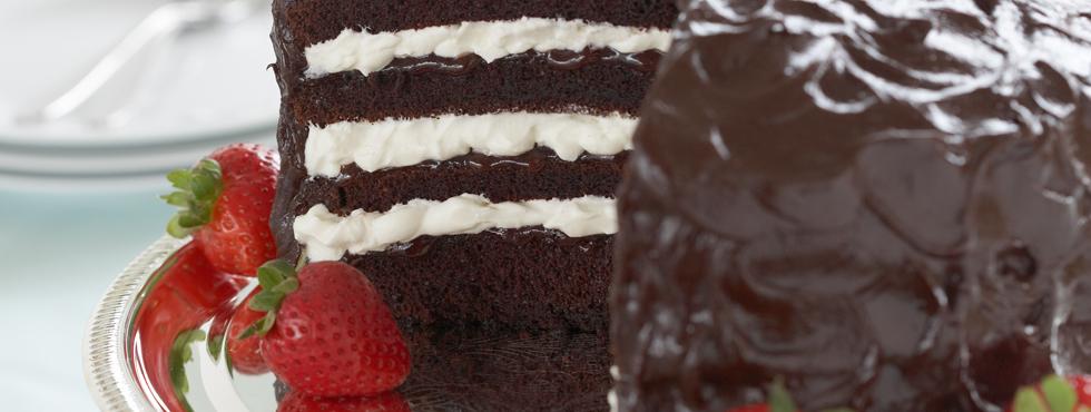 Chocolate Strawberry Torte    Recipes