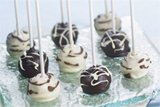 Chocolate Cheesecake Pops