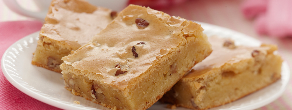 White Chocolate Brownie Bites   Recipes
